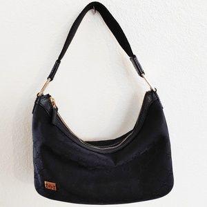 Authentic Gucci Canvas Hobo Shoulder Bag EUC